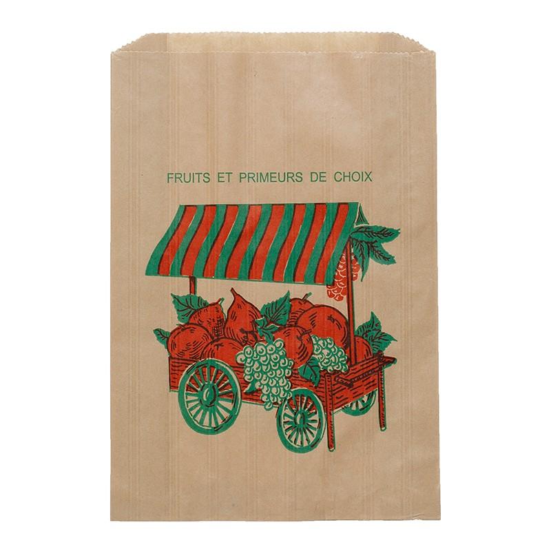 cardon emballages sac kraft alimentaire pour grossiste fruits et l gumes pour march s. Black Bedroom Furniture Sets. Home Design Ideas