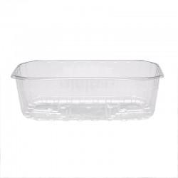 Barquette alimentaire plastique par 2100 unités pour conditionner, au choix, 125 ou 250g de fraise