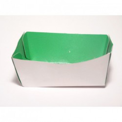 Barquette alimentaire carton verte par 200 unités