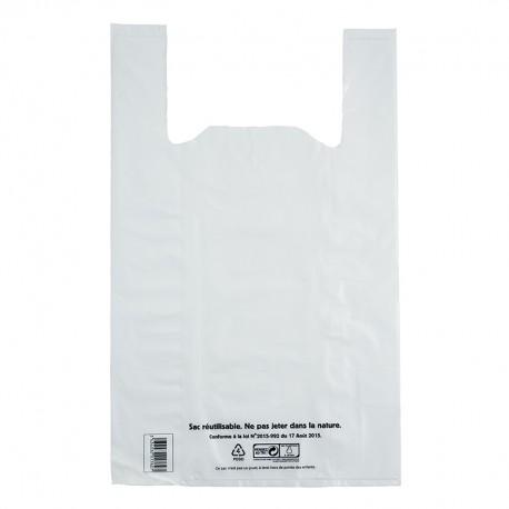 sacs plastique 50µm conforme à la loi N°2015-992